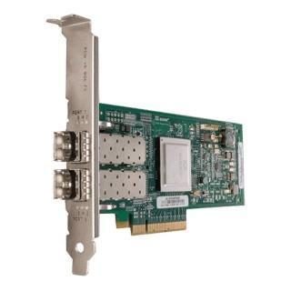 HP AJ764A QLOGIC QLE2562 NEW DUAL PORT 82Q 8GB PCI-E HB FIBRE CHANNEL ADAPTER