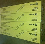 XEROX PHASER 7500 METERED TONER CARTRIDGE PAGE PACK eClick CYMK 106R01447-145
