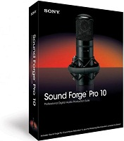SONY SOUND FORGE 10 PRO AUDIO PRODUCTION SUITE NEW